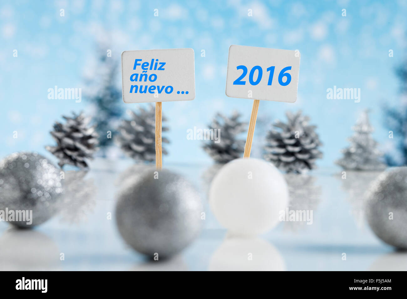 Happy new year - Stock Image