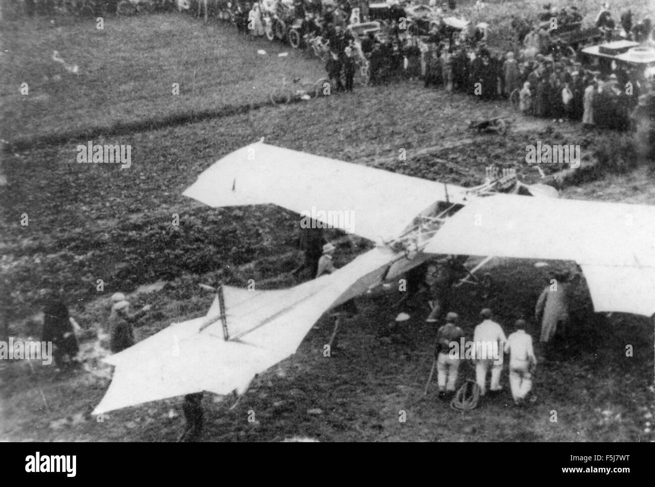 Antoinette monoplane Stock Photo