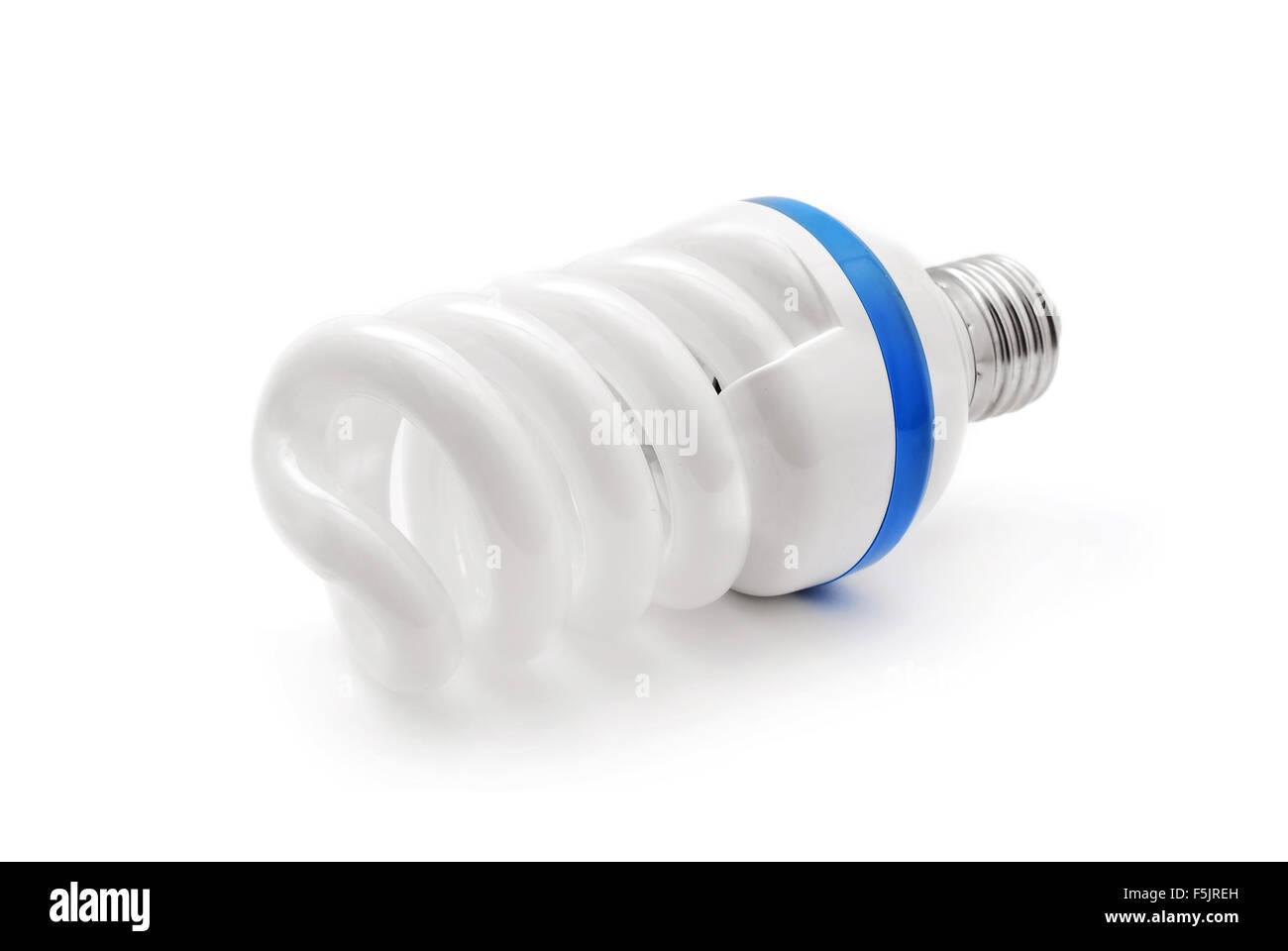 ecological light bulb - Stock Image