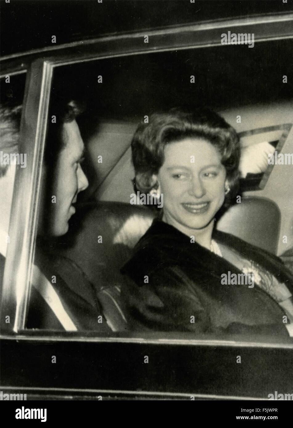 Princess Margaret of England and her husband Tony Armstrong , UK - Stock Image