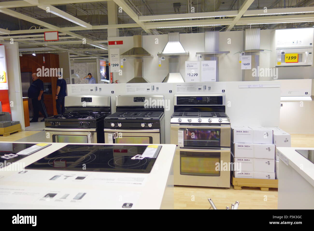 Kitchen appliances at an Ikea store in Toronto, Canada Stock Photo ...