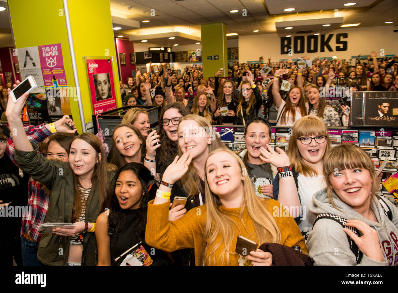 5 seconds of summer stock photos 5 seconds of summer stock images 05th nov 2015 fans wait to meet 5 seconds of m4hsunfo