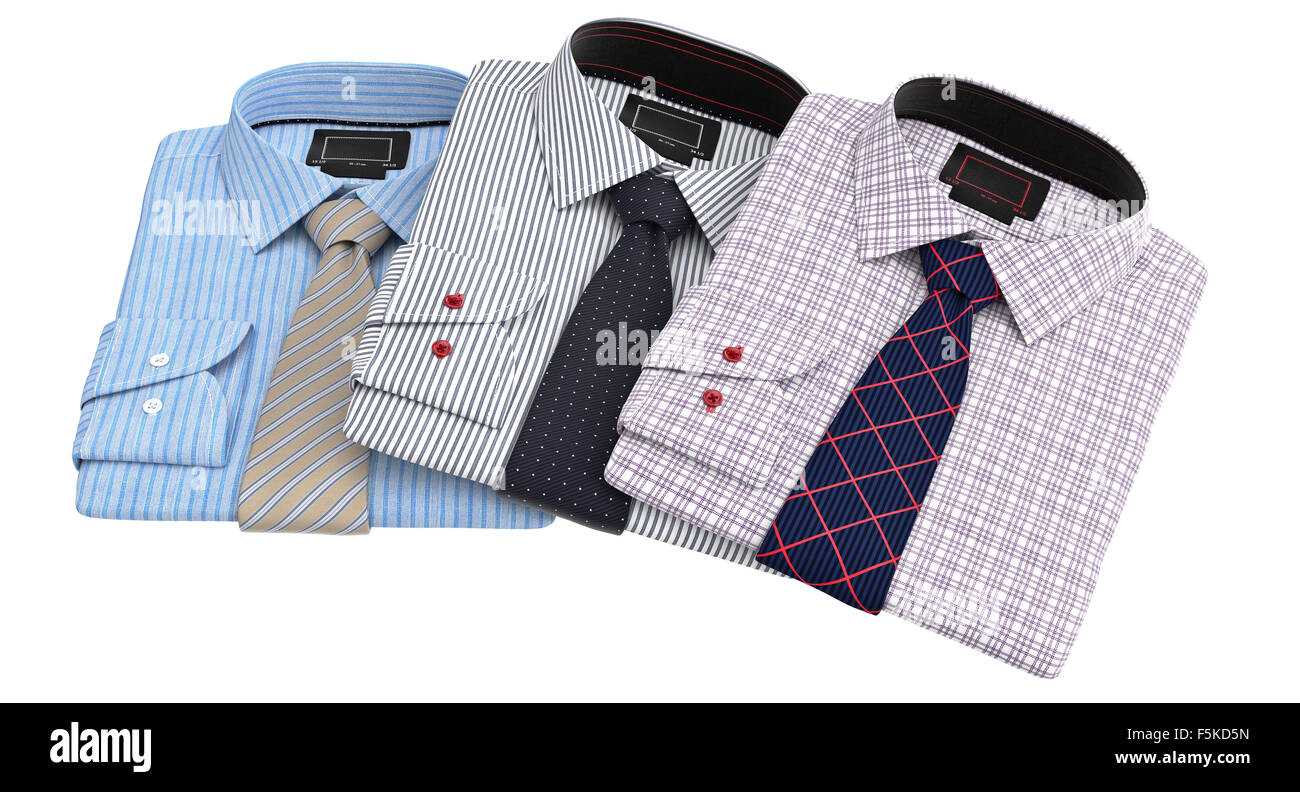 Men's Shirts Stack