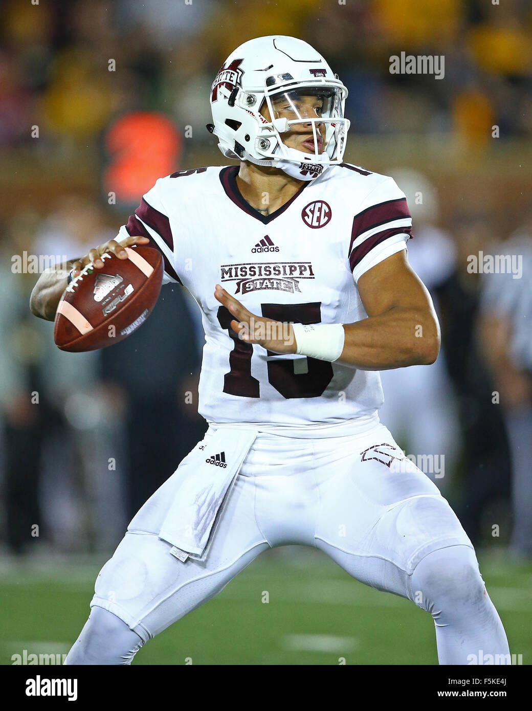 new product dfb60 3ce0d November, 5, 2015: Mississippi State Bulldogs quarterback ...