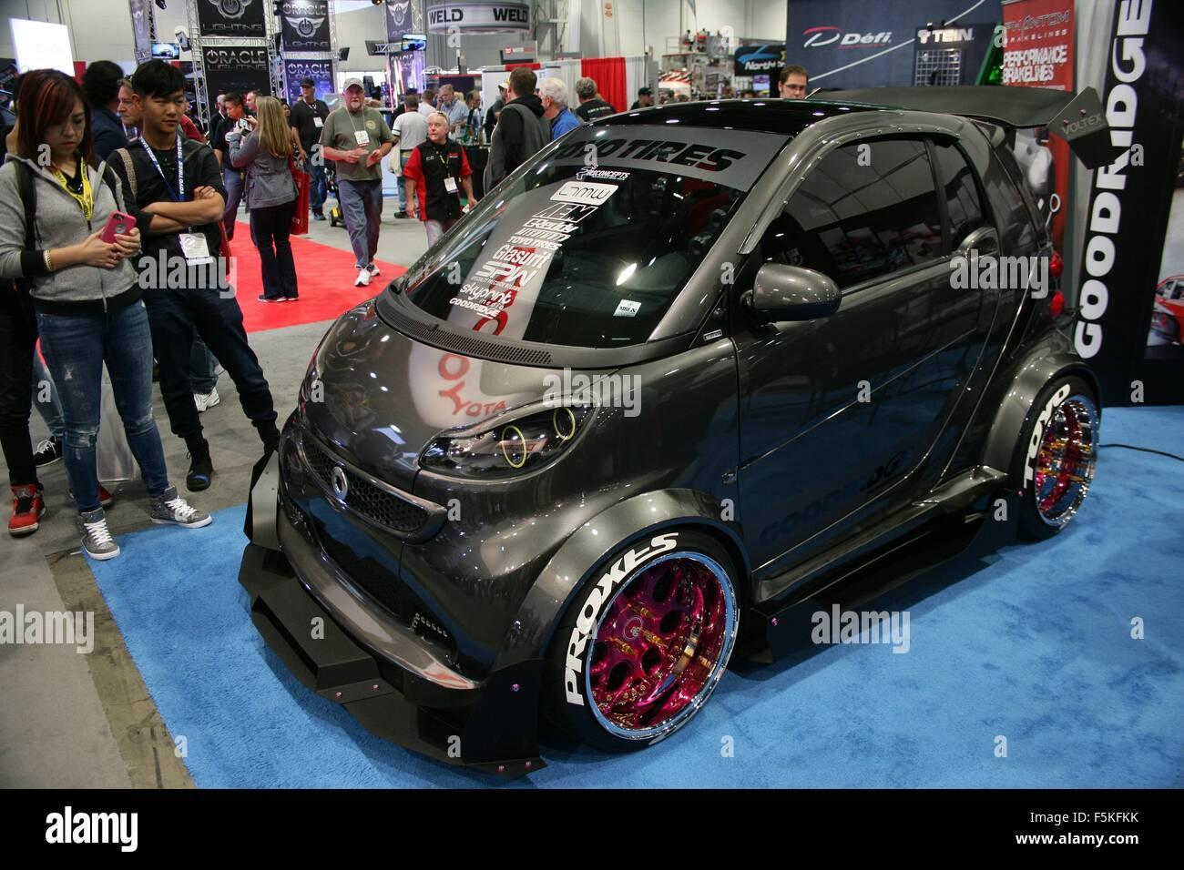 Custom Smart Car >> Las Vegas Nv Usa 5th Nov 2015 Custom Smart Car In