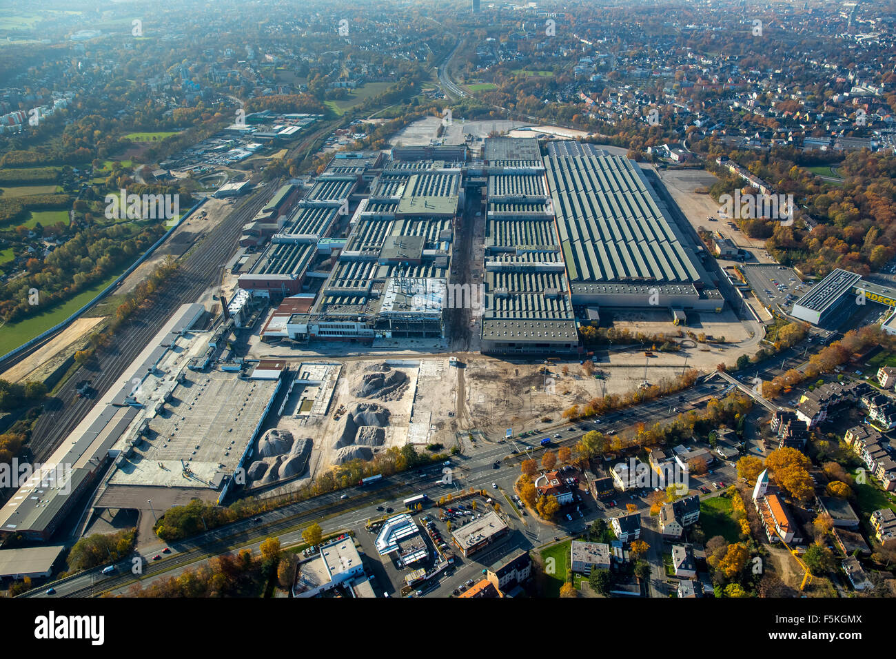 OPEL Opel plant 1, demolition demolition, automotive, expansion A44, Bochum, - Stock Image