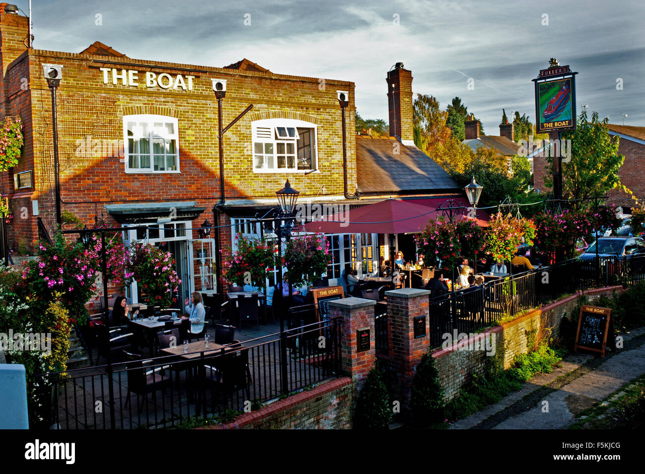 The Boat, Berkhamsted - Stock Image