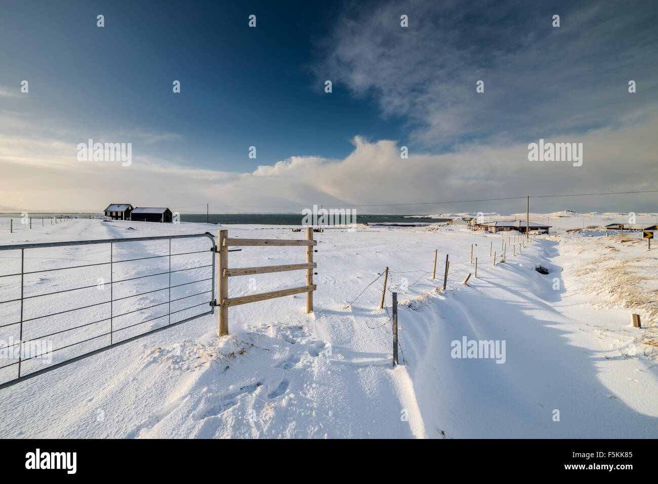Akranes area, Iceland - Stock Image