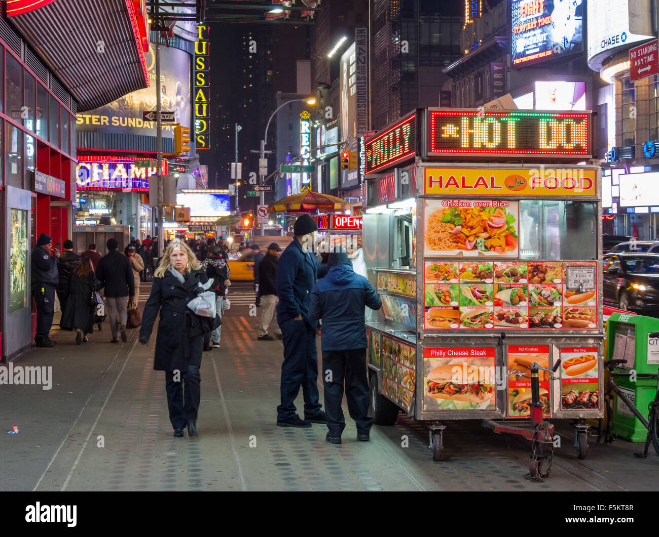 West 42nd Street - Stock Image