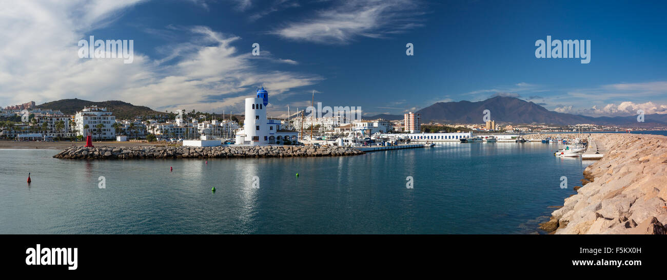 The Port of Duquesa on the Costa del Sol, Spain - Stock Image