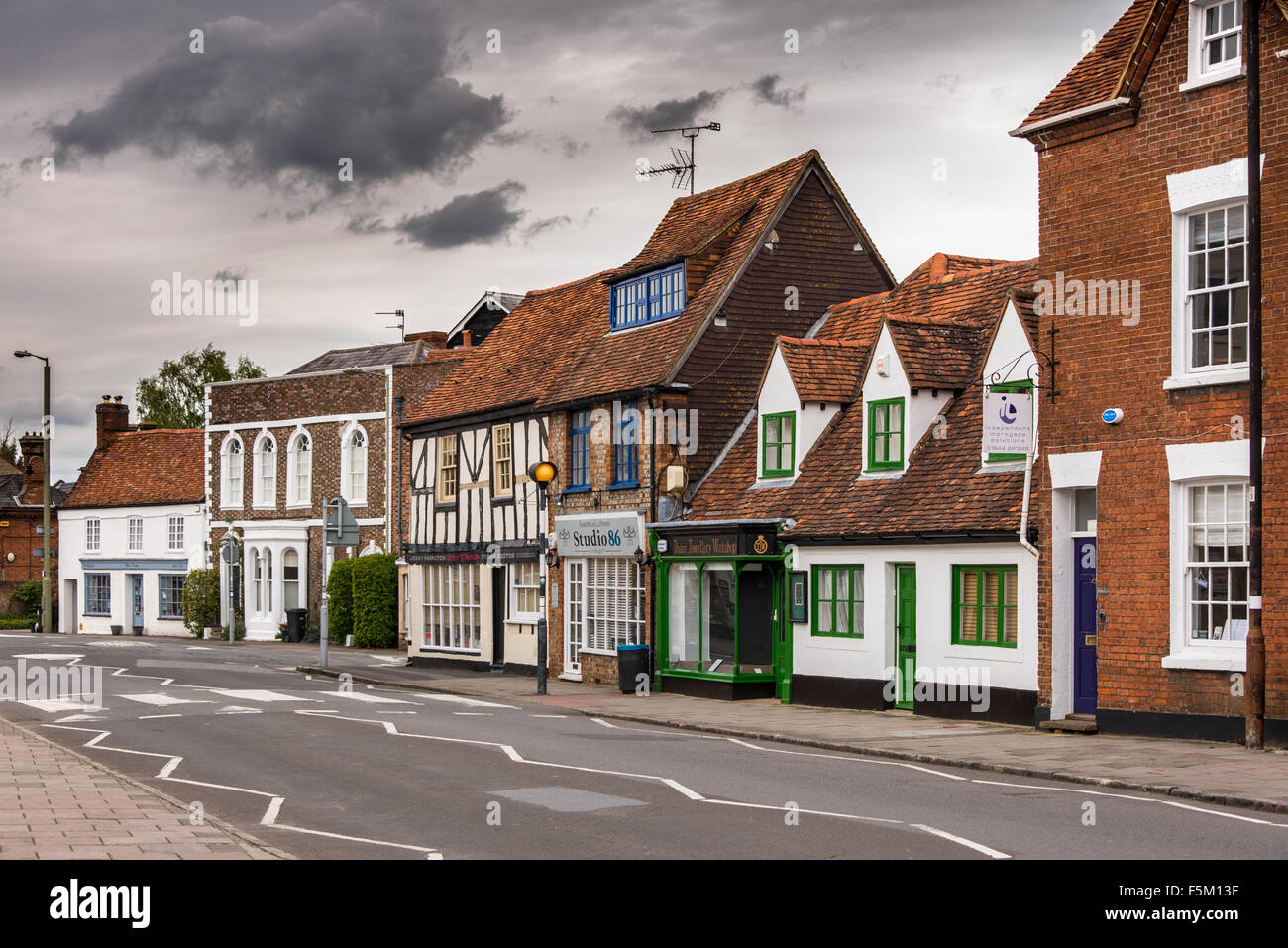 Thame High Street - Stock Image