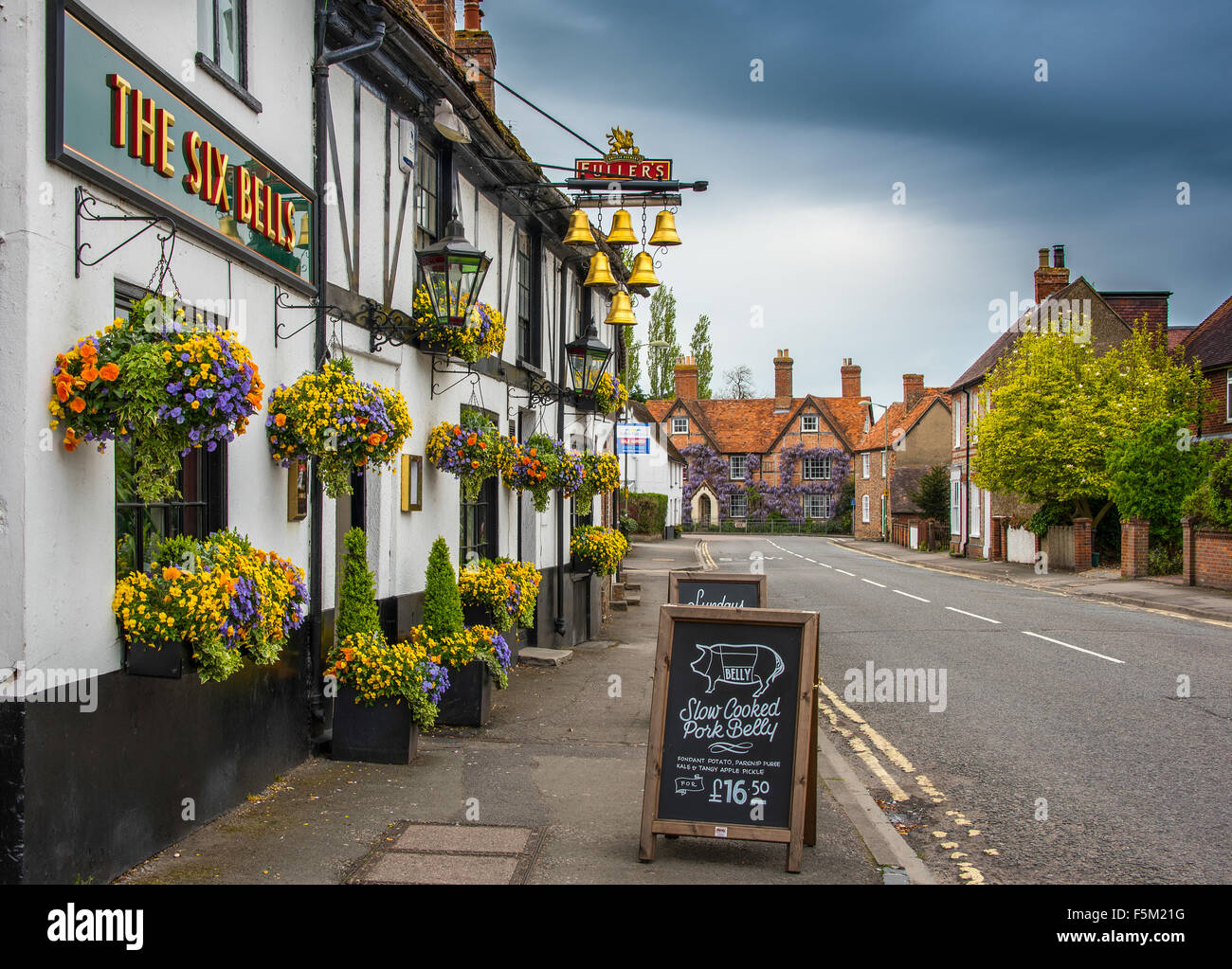 The Six Bells - Stock Image