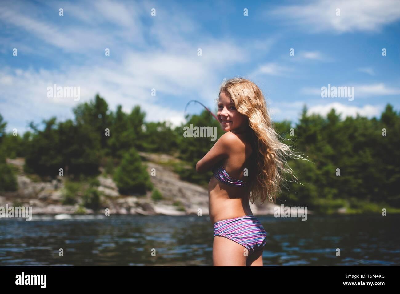 Bikini fishing pic