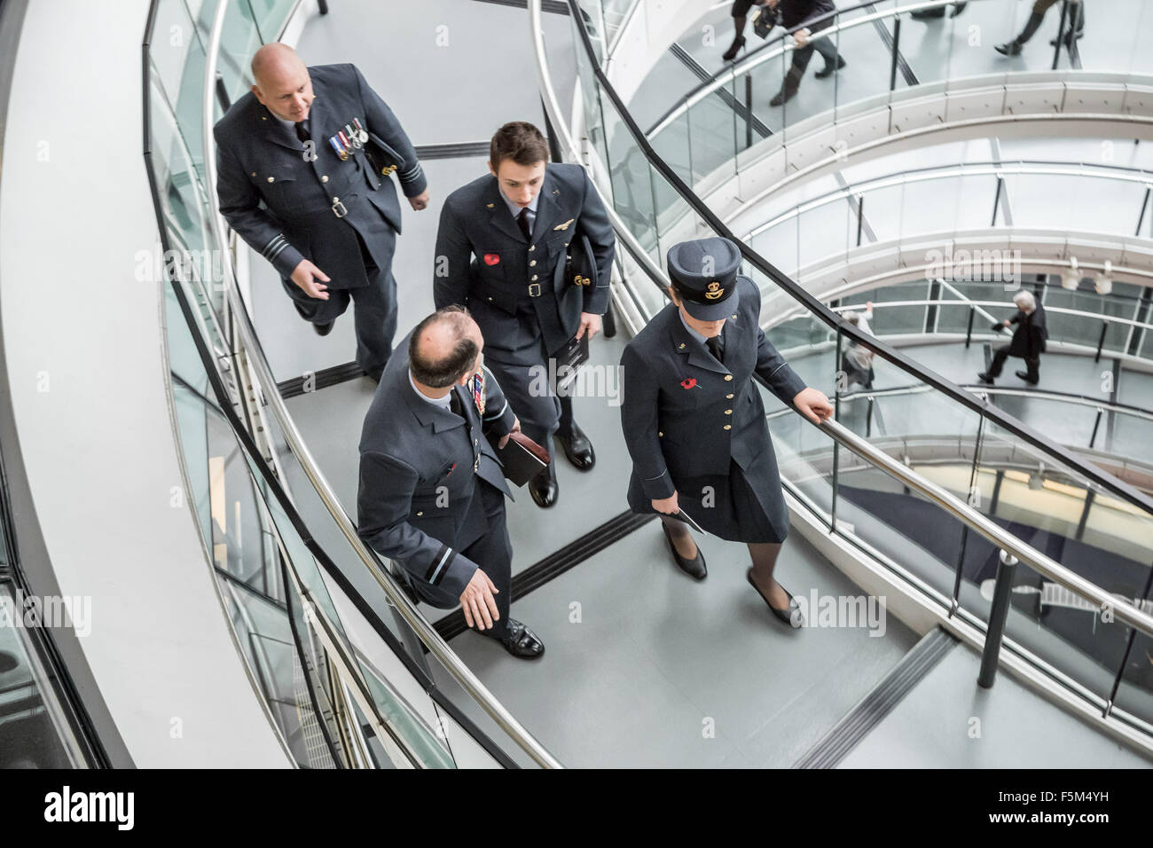 London, UK. 6th November, 2015. GLA Annual Service of Remembrance with Mayor Boris Johnson who joins with representatives - Stock Image