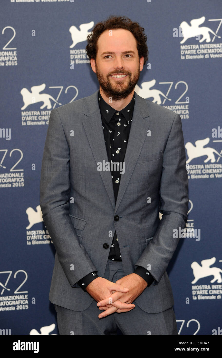 72nd Venice Film Festival - 'Equals' photocall  Featuring: Drake Doremus When: 05 Sep 2015 Stock Photo