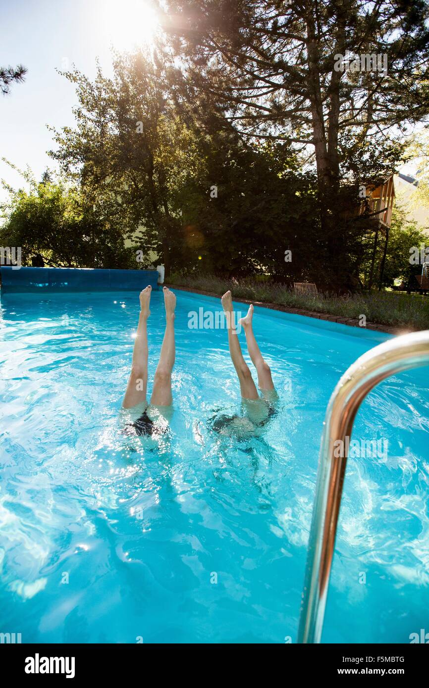 Teenager Diving Pool Stock Photos Teenager Diving Pool Stock Images Alamy