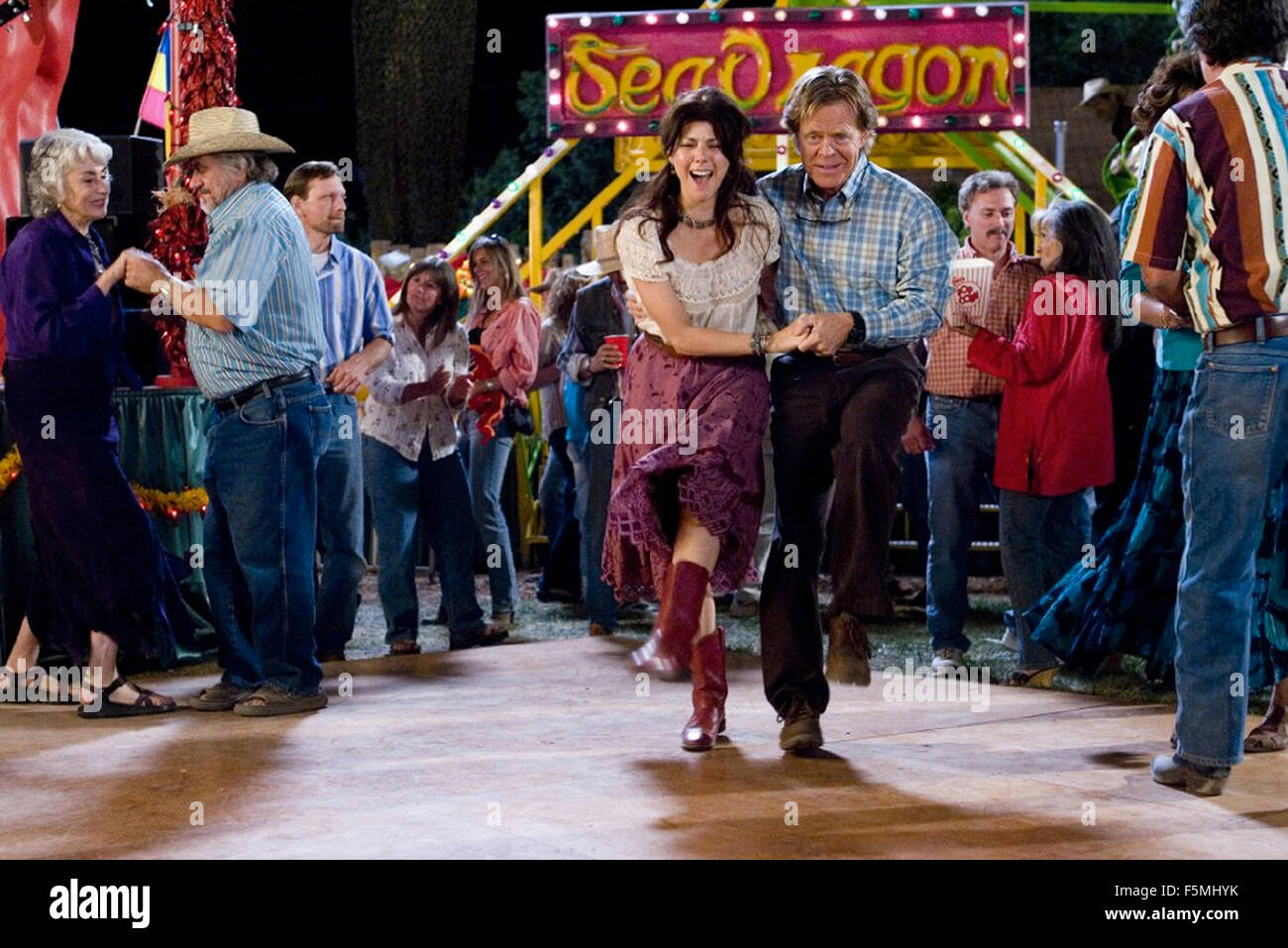 WILD HOGS 2007 Touchstone Pictures film with Marisa Tomei and William Macy - Stock Image