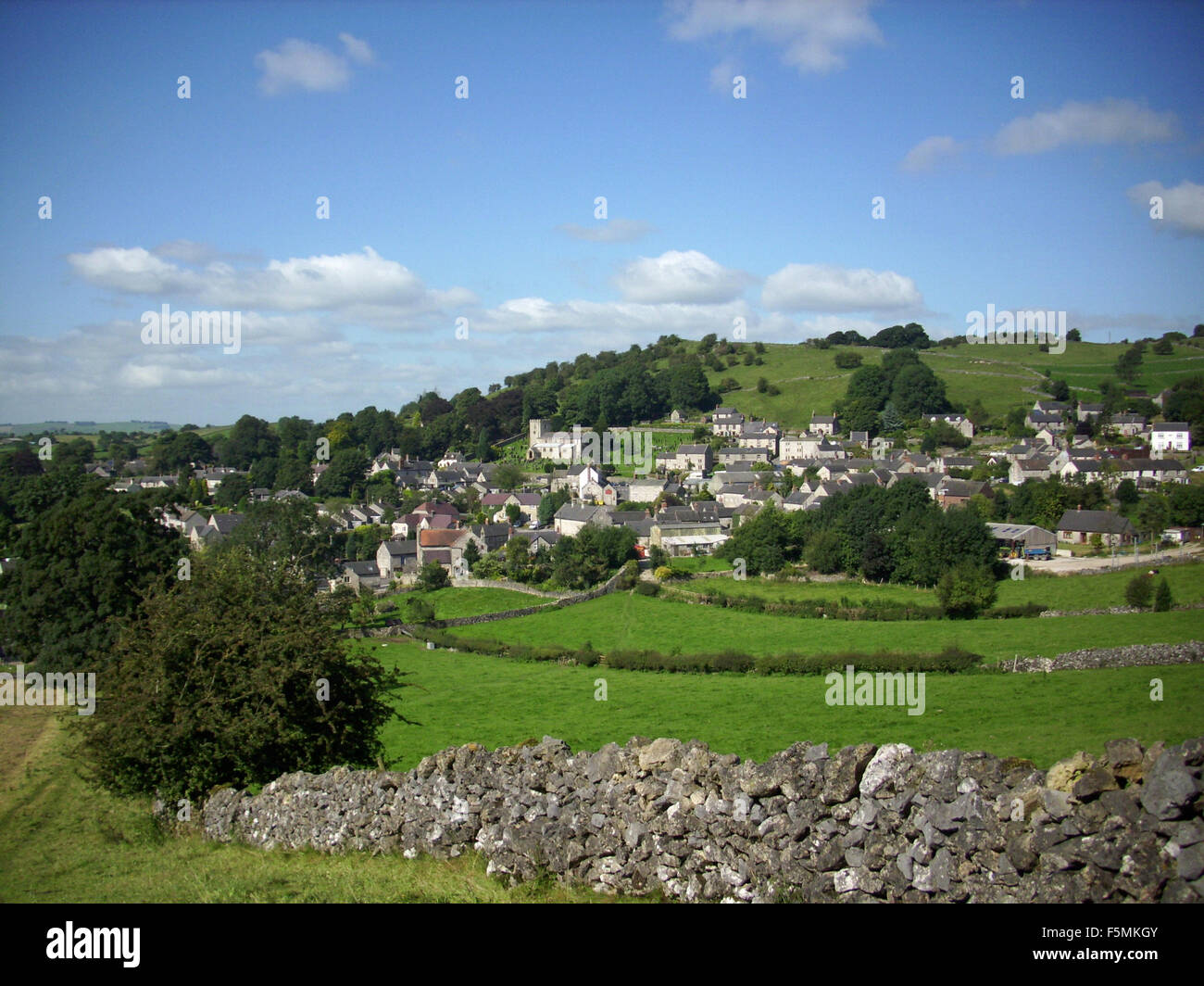 Village of Brassington, Derbyshire - Stock Image
