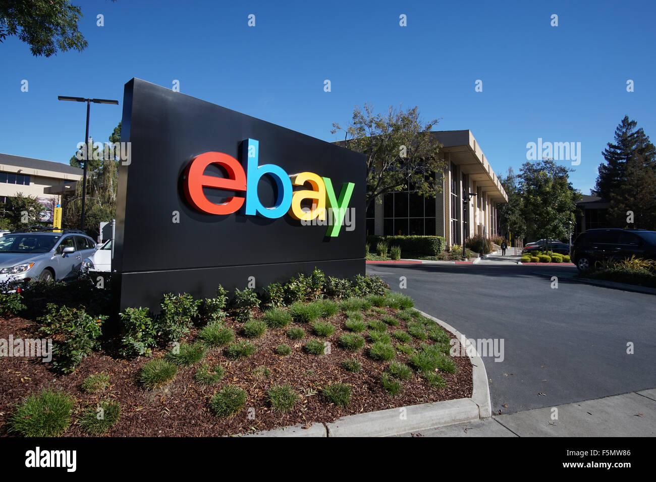 Ebay Campus In San Jose Ca Stock Photo Alamy
