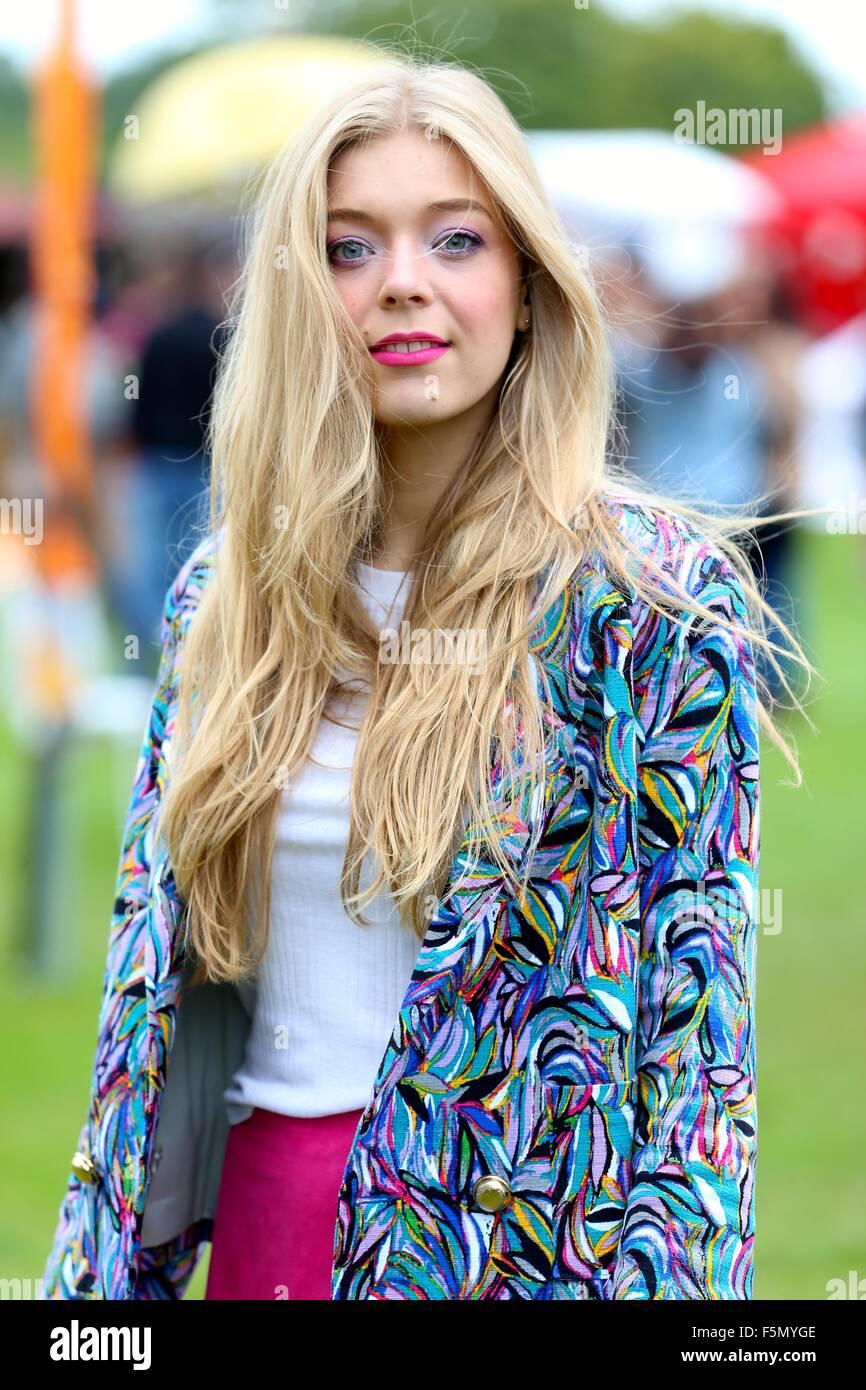 Sundown Festival 2015  Featuring: Becky Hill Where: London, United Kingdom When: 05 Sep 2015 - Stock Image
