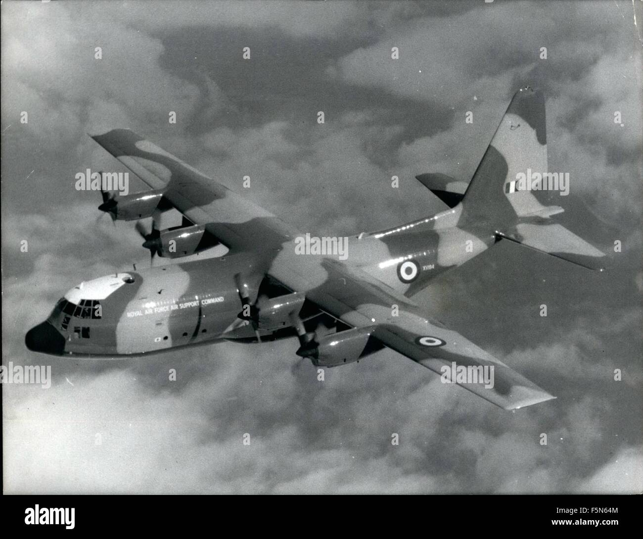 September 26, 1967 - Hercules enters R.A.F. Squadron Service Stock Photo -  Alamy