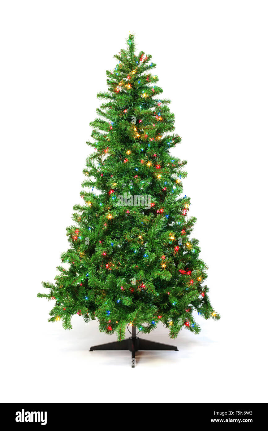 Christmas Lights Isolated Cut Out Stock Images & Pictures - Alamy