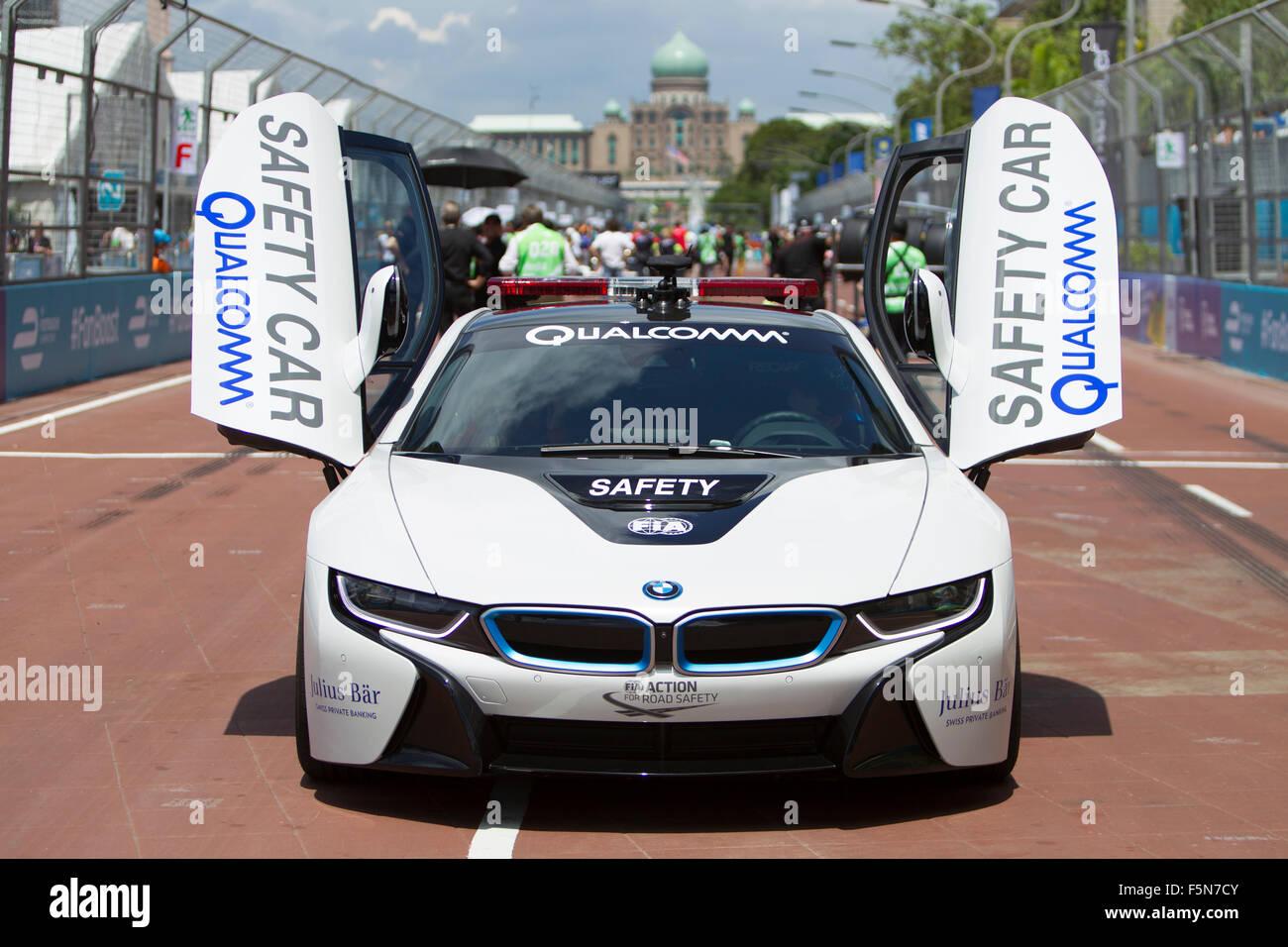Putrajaya Malaysia November 7 2015 Fia Bmw I8 Safety Cars
