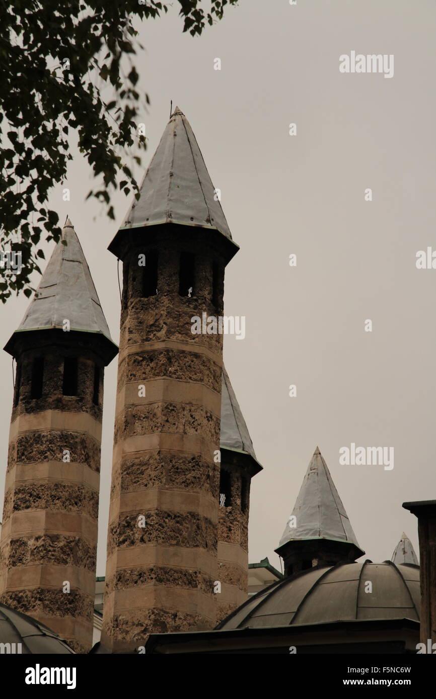 chimneys Sarajevo Bosnia-Herzegovina - Stock Image