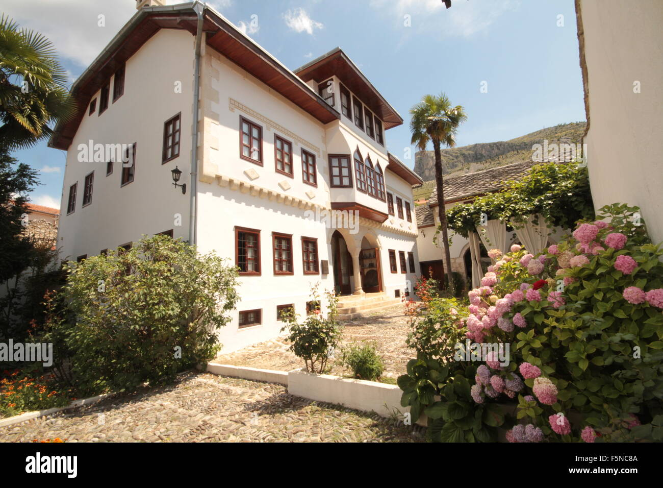 Muselbegovic House Mostar Bosnia - Stock Image