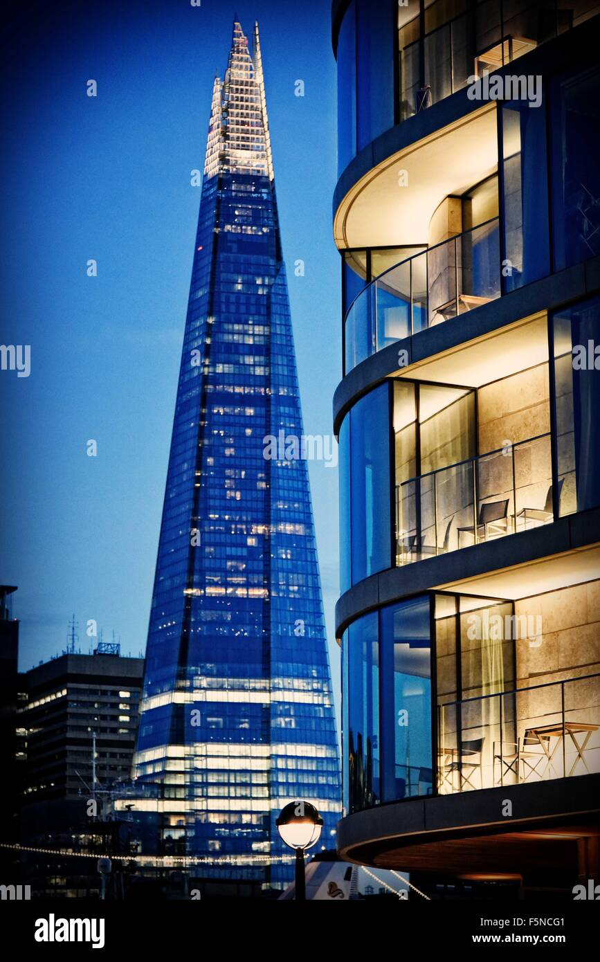 The Shard tower London England UK - Stock Image