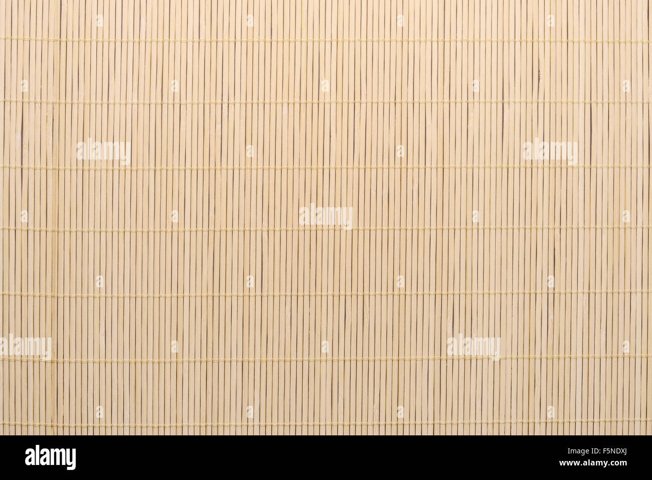 Bamboo fine tablecloth background texture. Striped wallpaper. - Stock Image