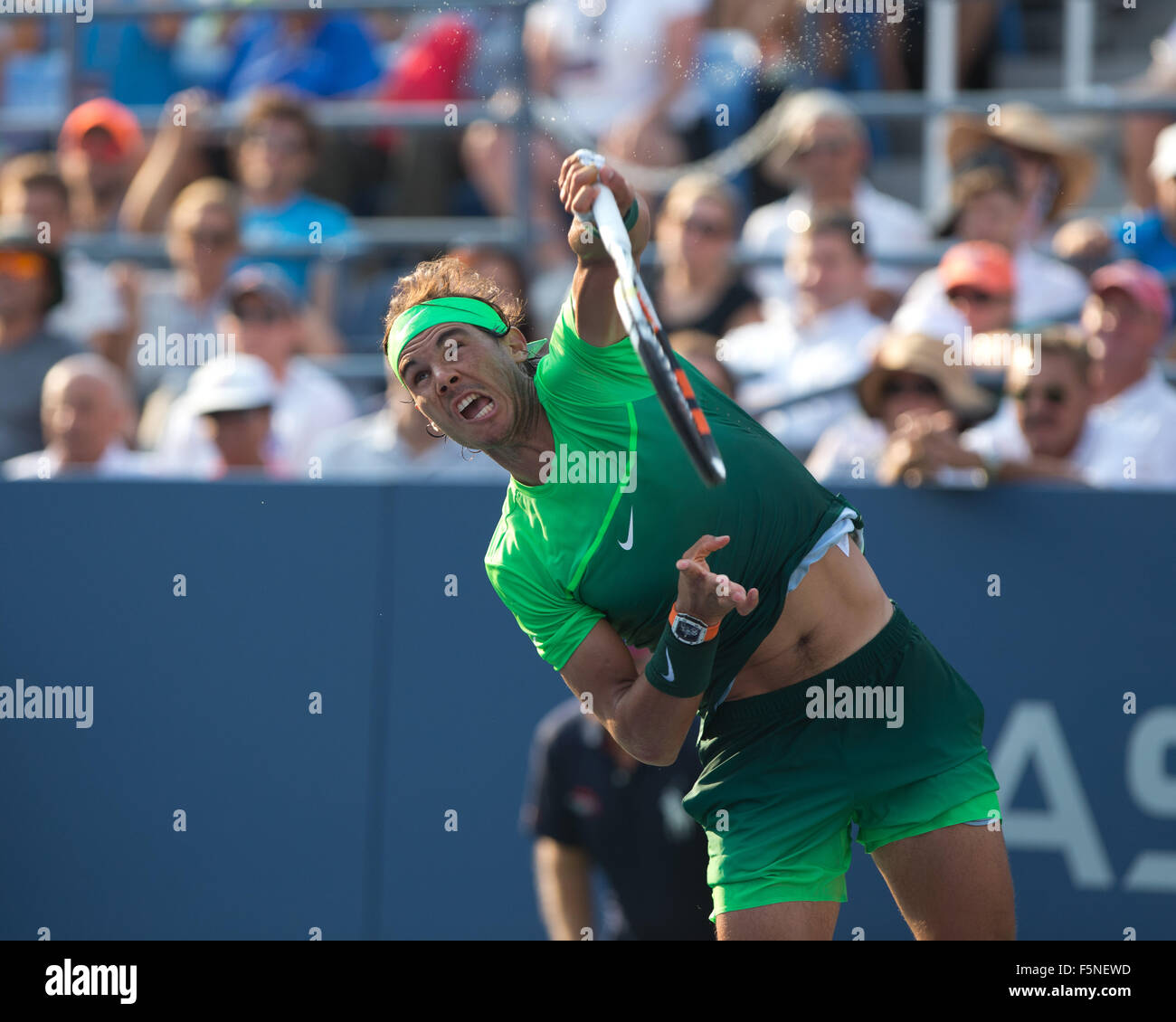 Rafael Nadal At Us Open 2015 High Resolution Stock Photography And Images Alamy