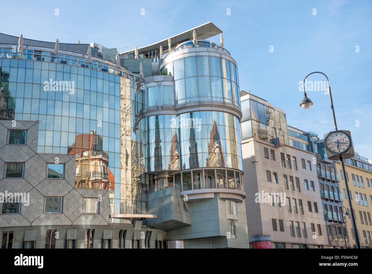 eea1780856c2f4 WIEN - AUGUST 1  exterior of skyline cafe is located on top floor 7 of