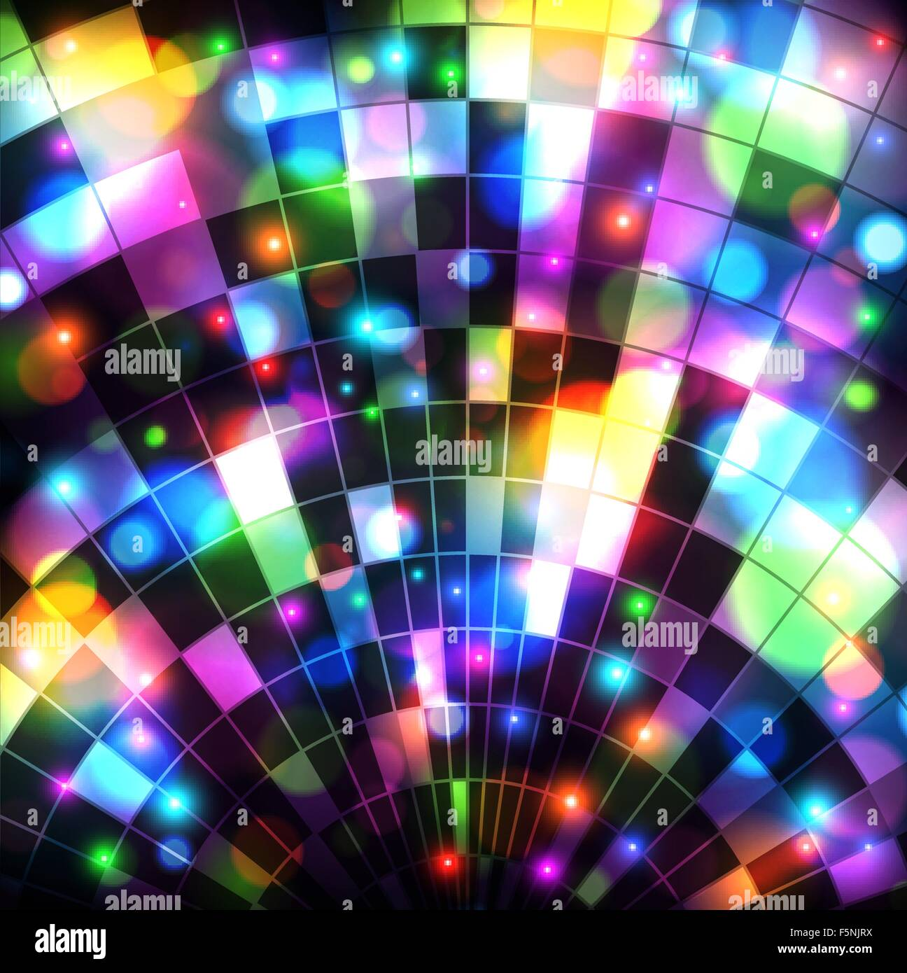 Disco Ball Background Stock Vector Art Illustration Vector