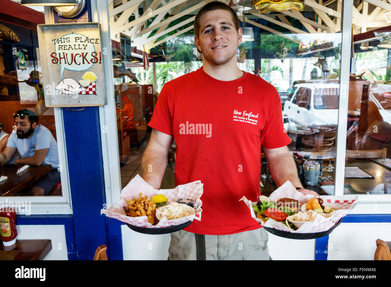 Florida Jensen Beach New England Fish Market Seafood