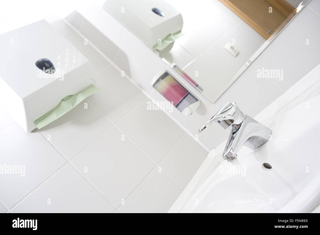 Public Toilet Sink And Faucet Stock Photo 89604536 Alamy