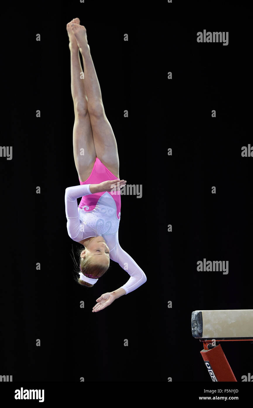 Espoirs All Around Championships 5.12.14.Emerates Arena Glasgow. - Stock Image