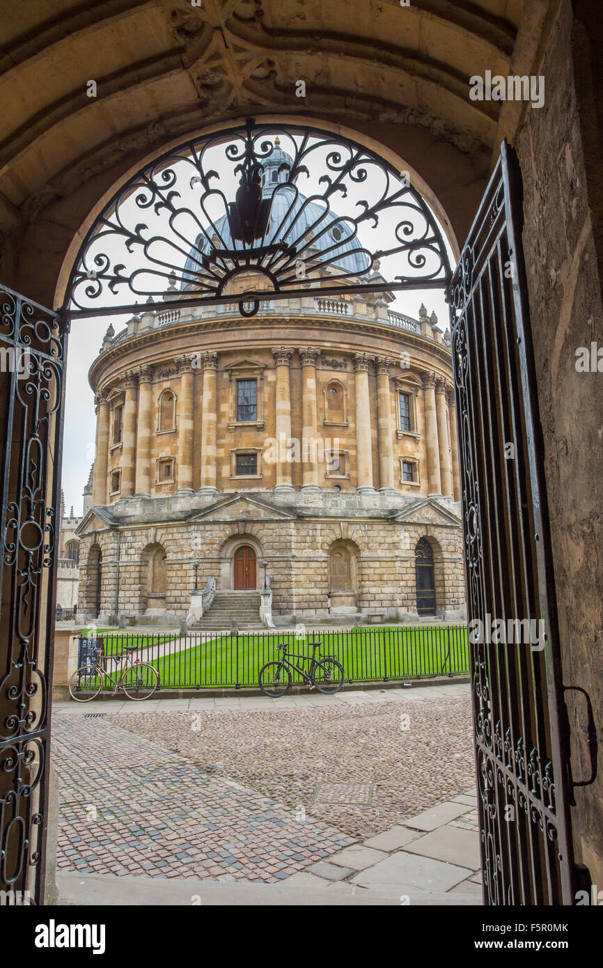Radcliffe Camera, University academic library and reading rooms, Oxford - Stock Image