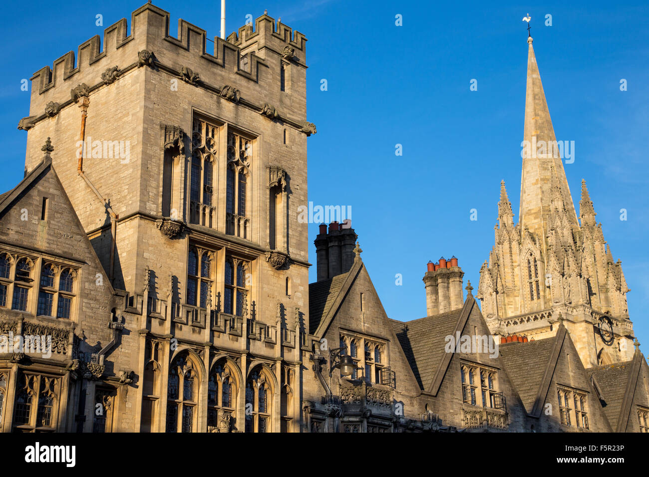 Brasenose College, Oxford University, Oxford, England - Stock Image