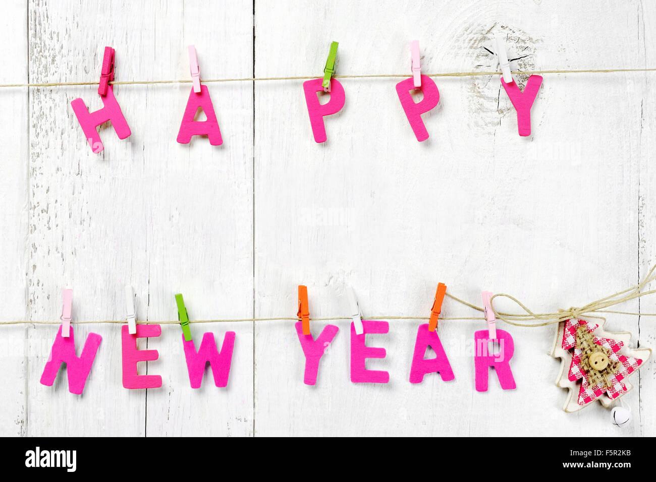Happy New Year background - Stock Image