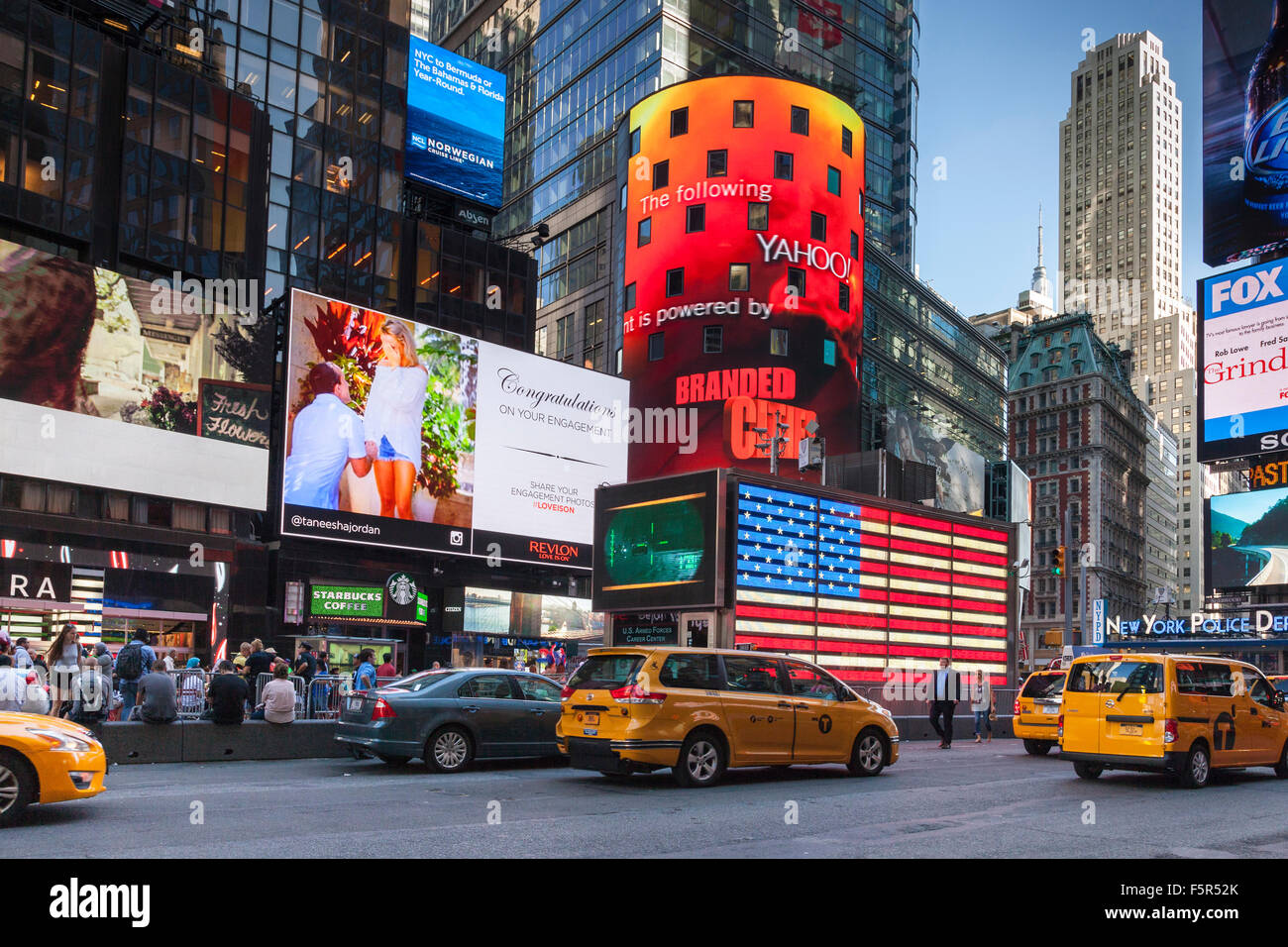 Times Square, midtown Manhattan, New York, USA Stock Photo