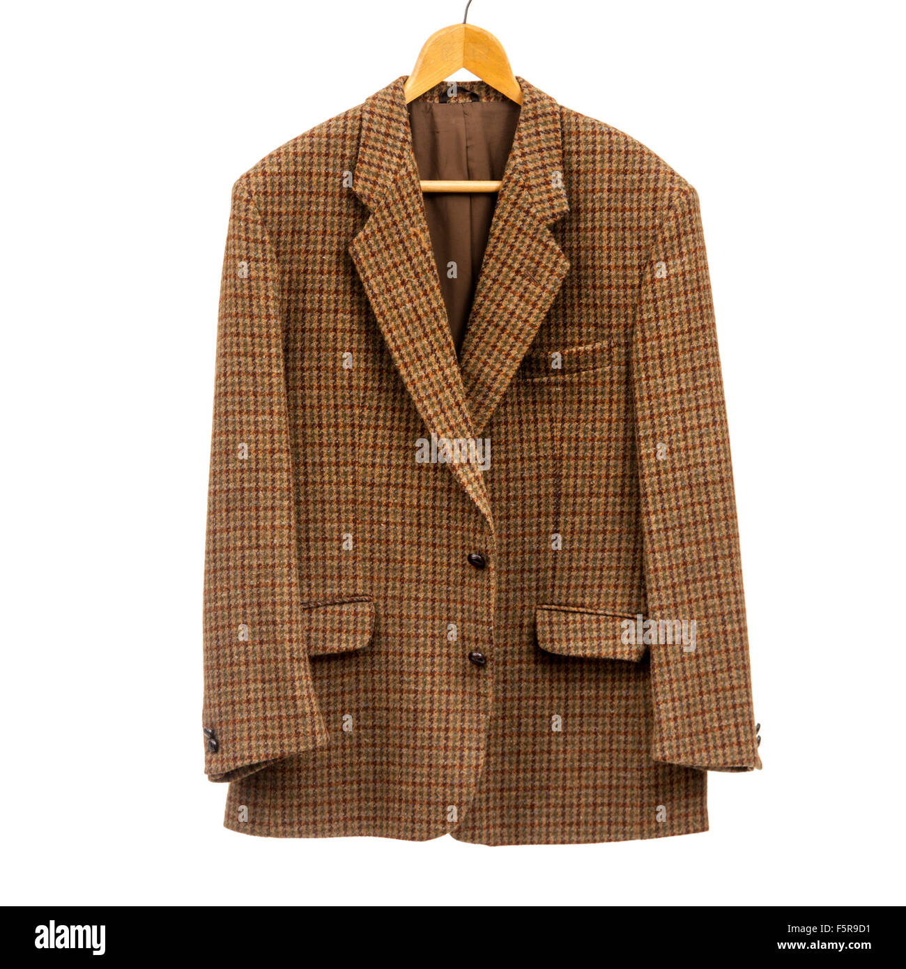 Vintage early 1960's Harris Tweed jacket (100% pure wool) by Pitlochry Countrywear, hand woven in the Outer - Stock Image