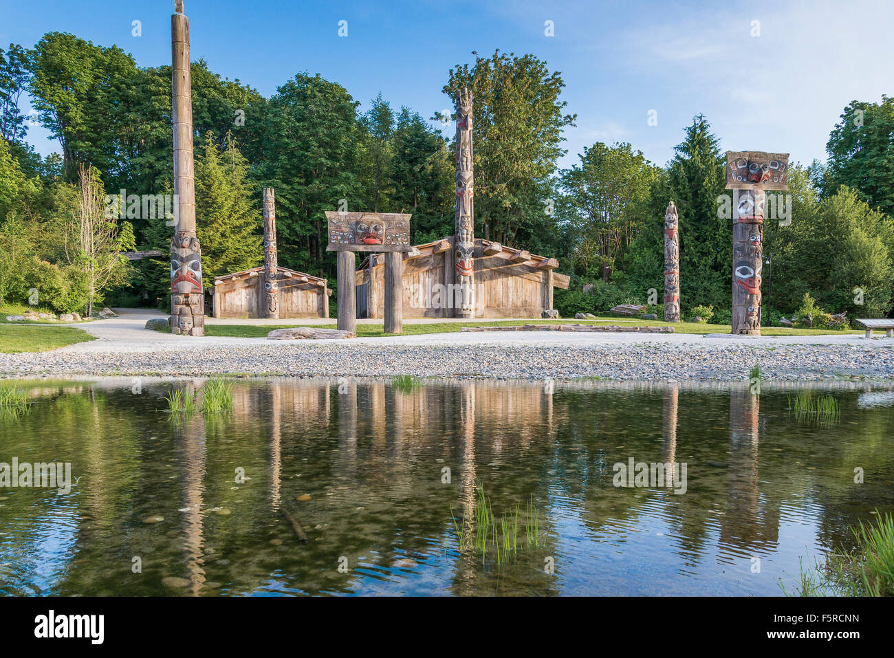 Museum of Anthropology, Vancouver, British Columbia, Canada - Stock Image