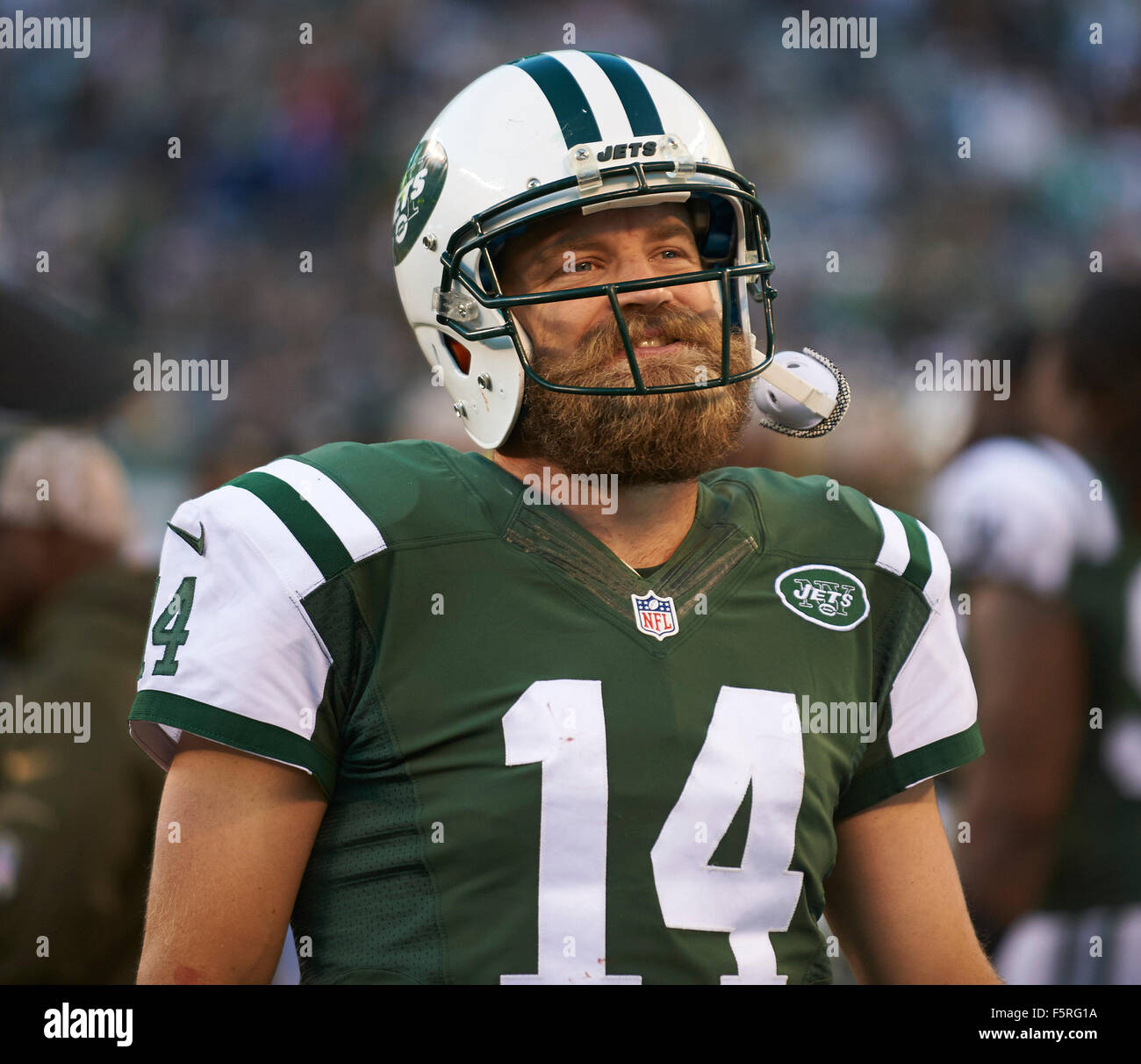 East Jersey Alamy Jets' 8th Usa Stock 89642598 Photo New - Quarterback 2015 Rutherford Nov beaabaccffddb|The Sports Guys