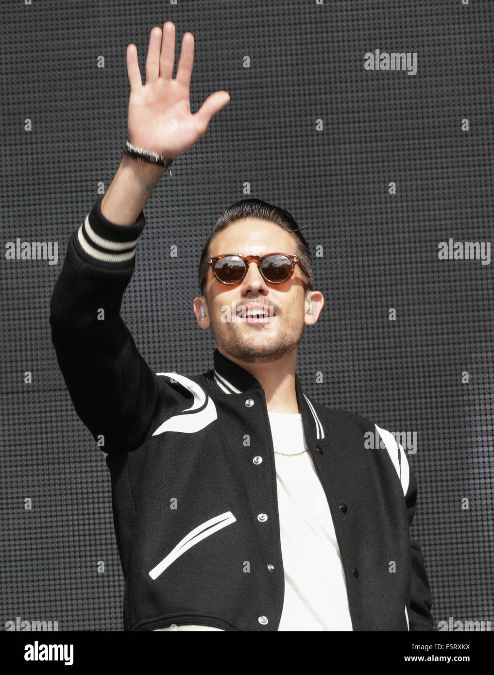 2015 Budweiser Made In America - Performances - Day 1  Featuring: G- Eazy Where: Philadelphia, Pennsylvania, United - Stock Image