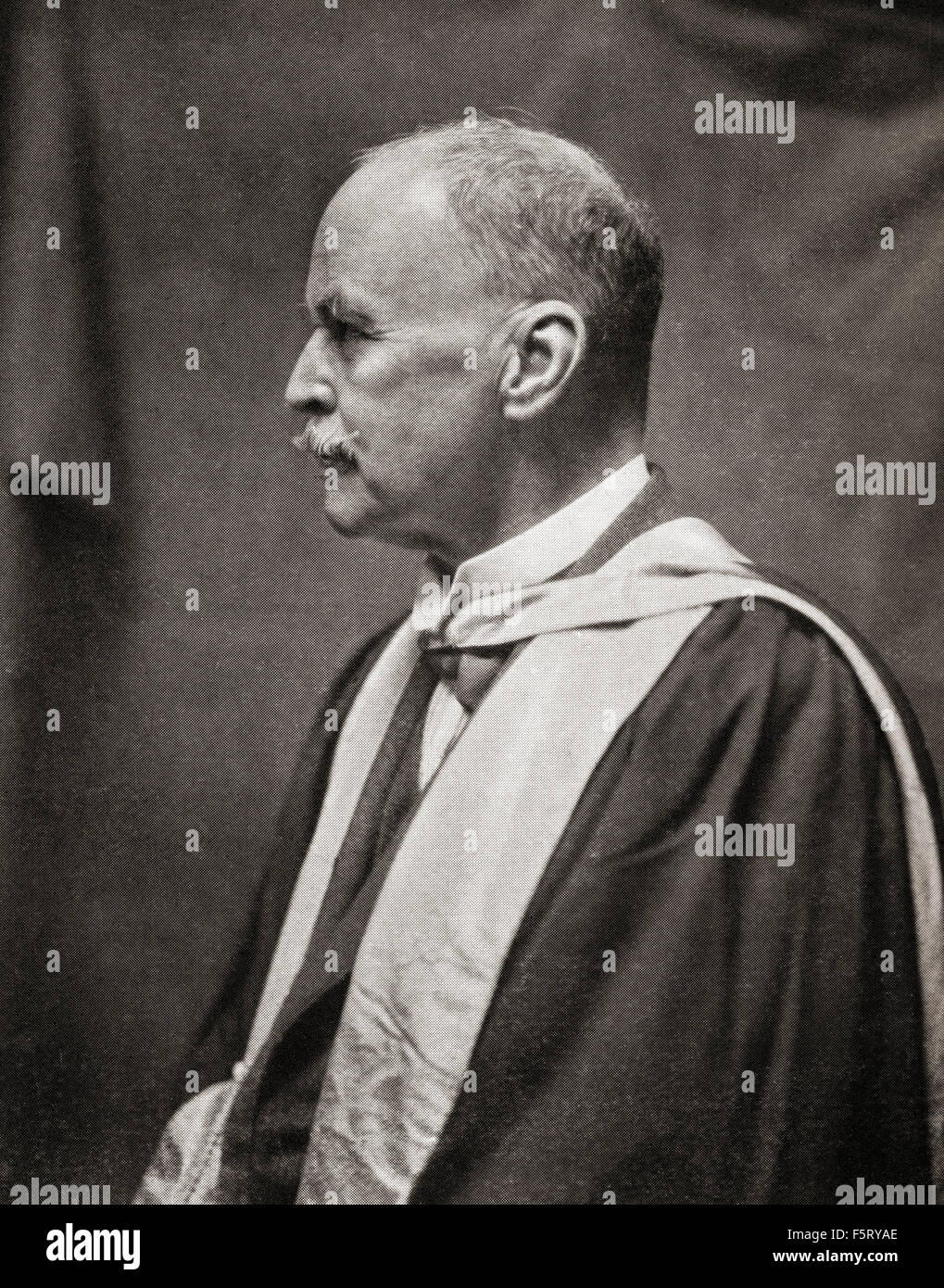 Sir Ronald Ross, 1857 – 1932.  British medical doctor, winner of the 1902 Nobel Prize for Physiology or Medicine. - Stock Image