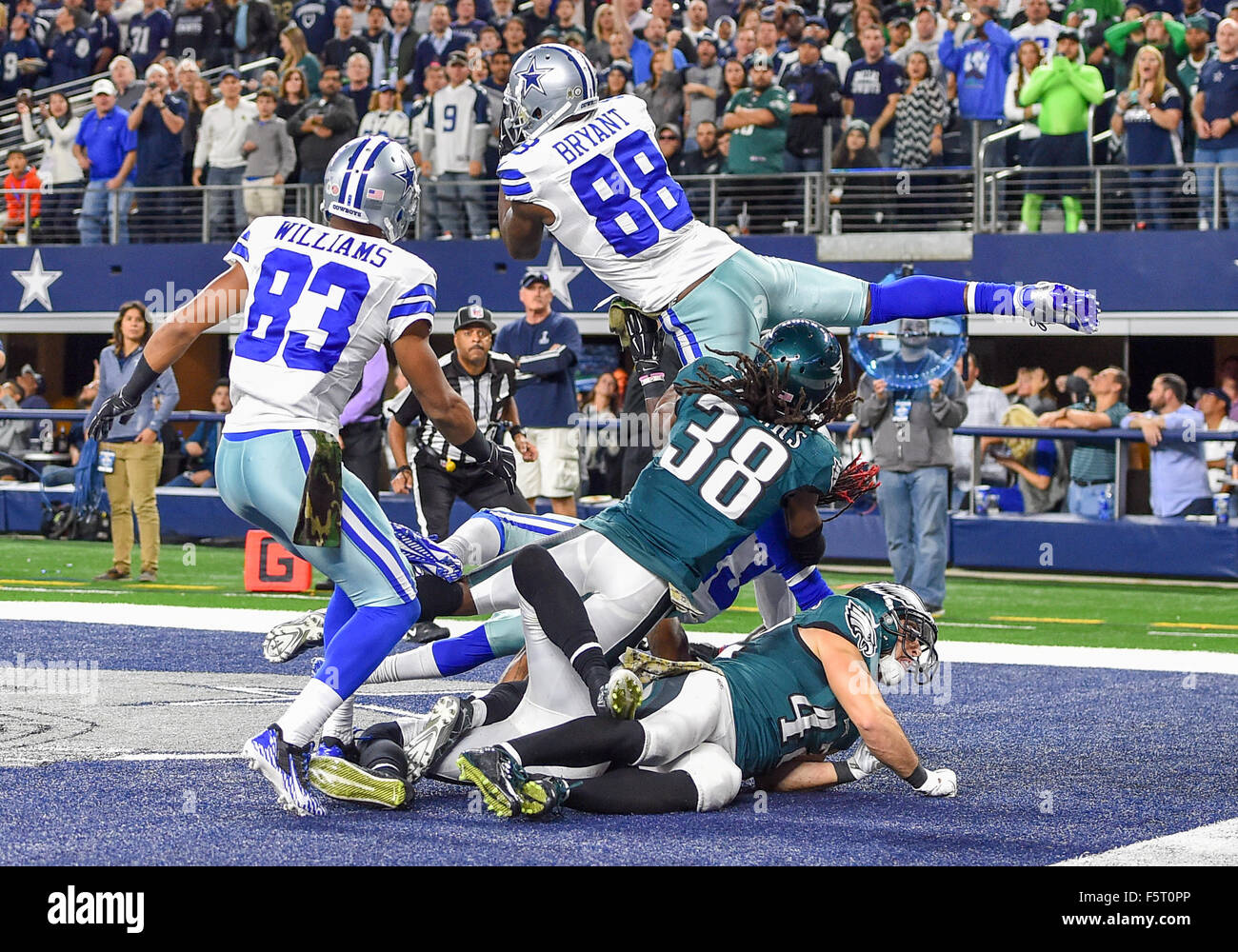 November 08th 2015 Dallas Cowboys Wide Receiver Dez Bryant