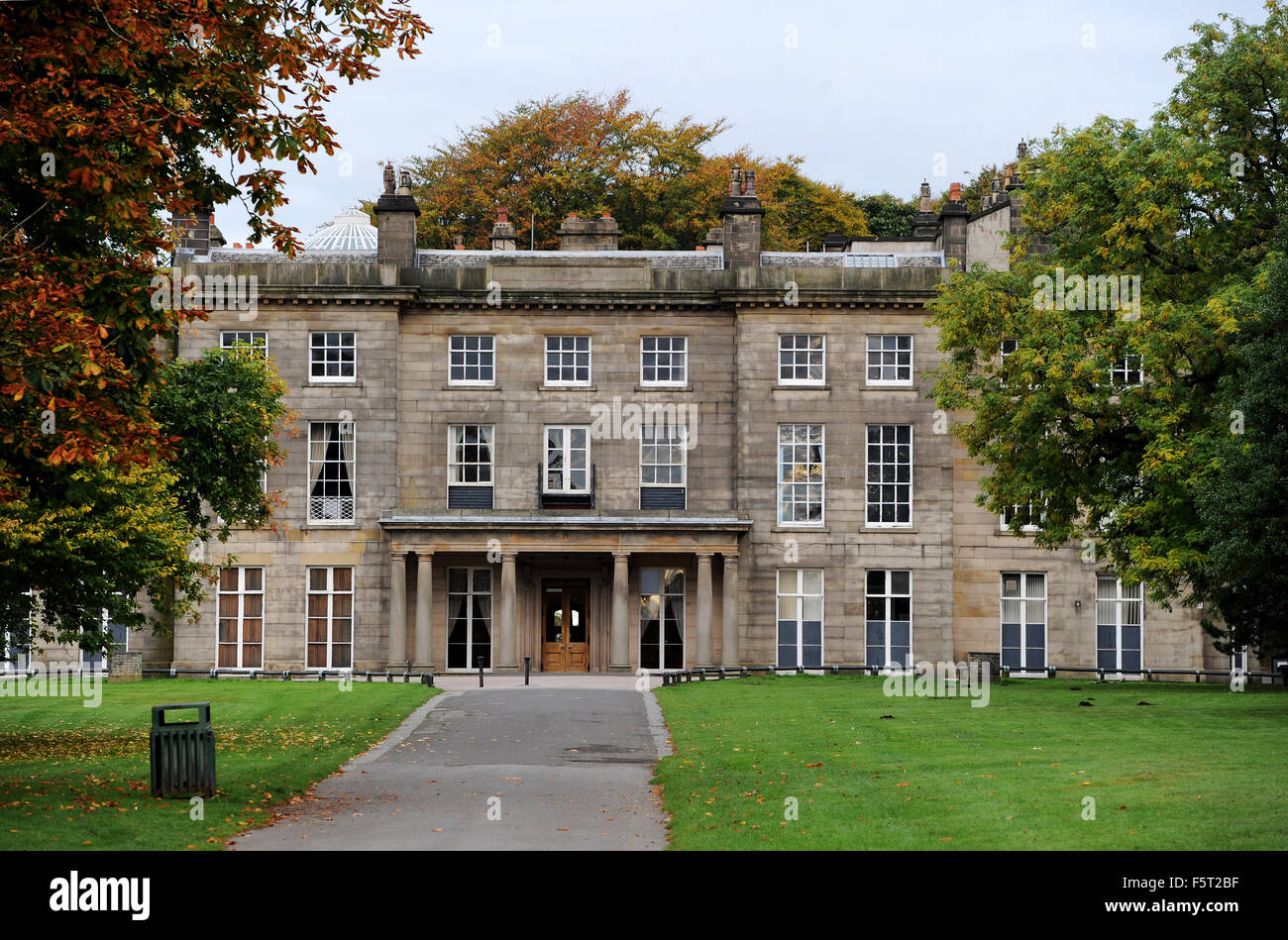 Haigh Hall, Wigan, Lancashire, UK. Picture by Paul Heyes, October 13, 2015. - Stock Image