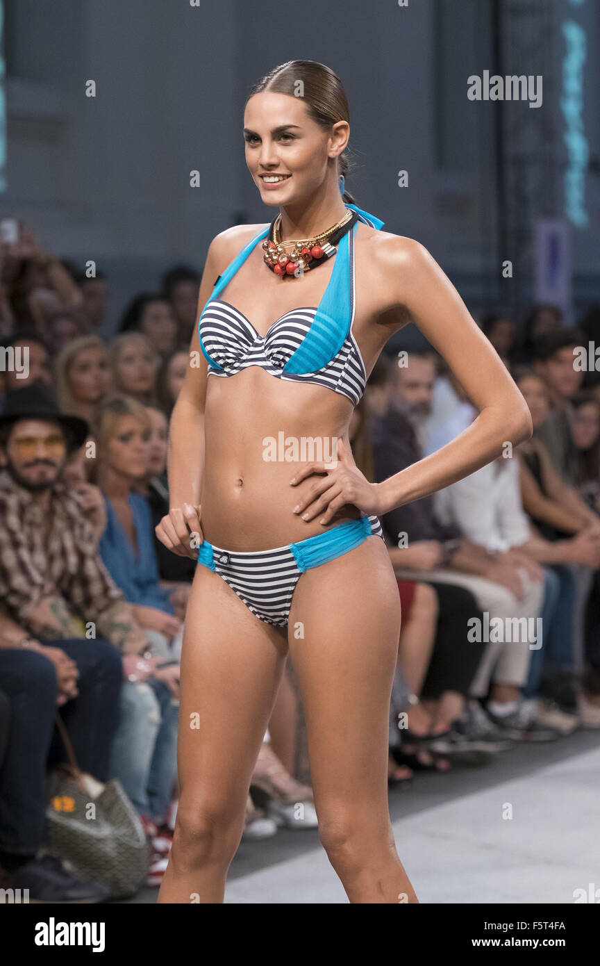7043e0da721b Mercedes-Benz Fashion Week Madrid - Bloomers & Bikini - Catwalk ...