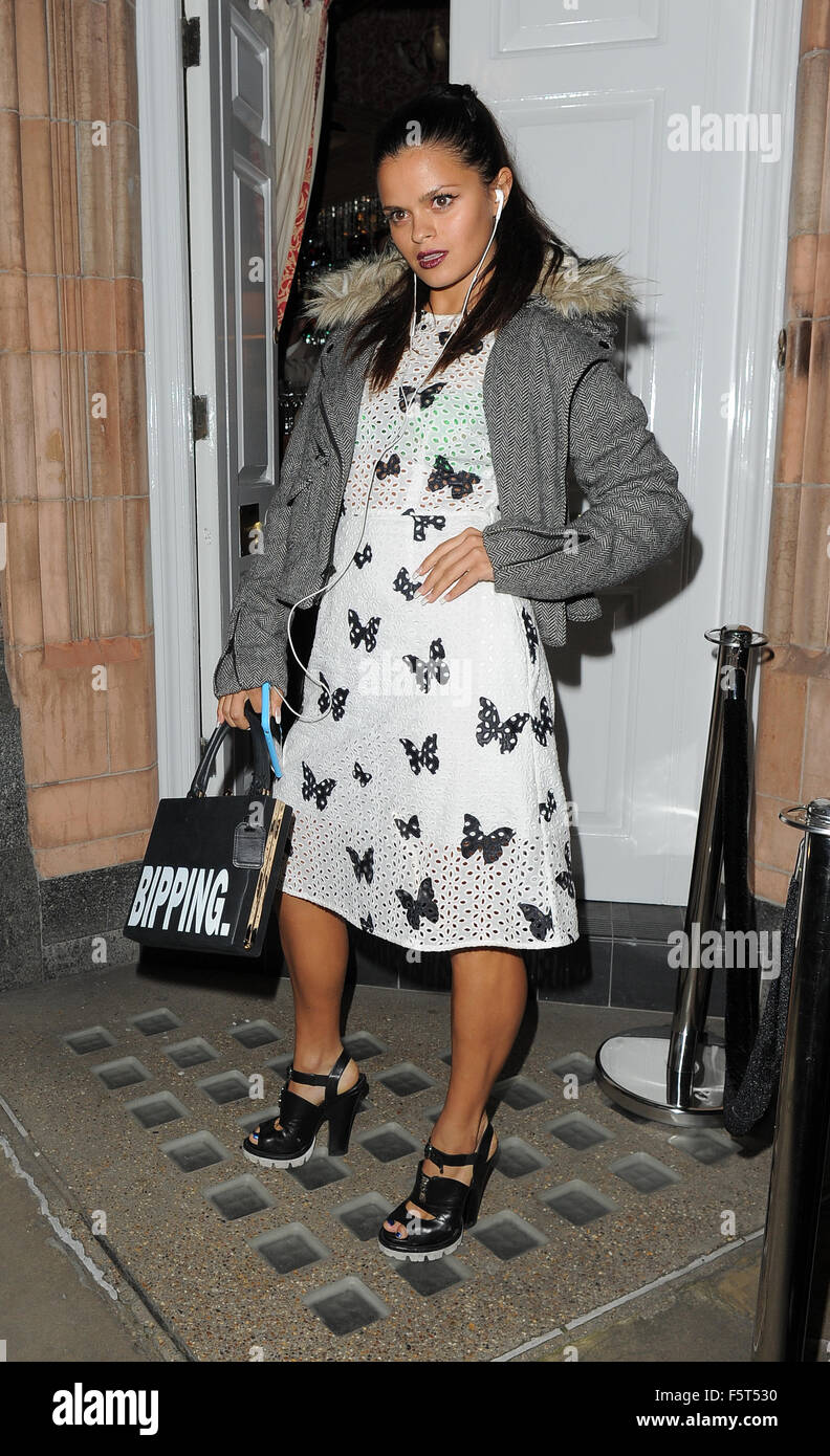 Amanda Wakeley 25th Anniversary Party at Harry s Bar - Arrivals Featuring   Bip Ling Where  London ad352ea95